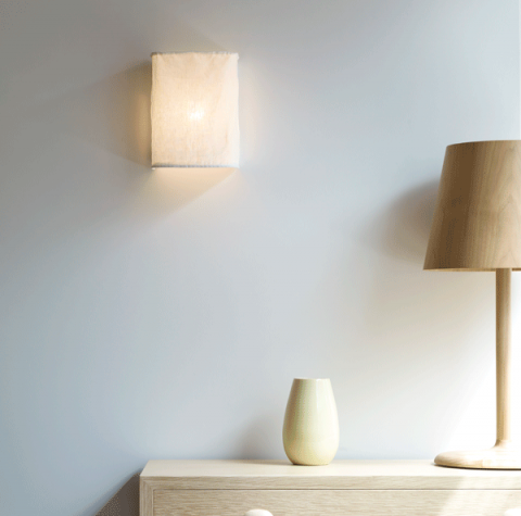 Pierre and Charlotte - Indigo Wall Light